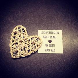 A tiny heart - Gepersonaliseerd