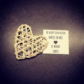 A tiny heart - Je wordt tante