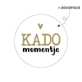 Cadeausticker - KADO momentje