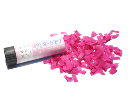 Gender Reveal Confetti Popper GIRL