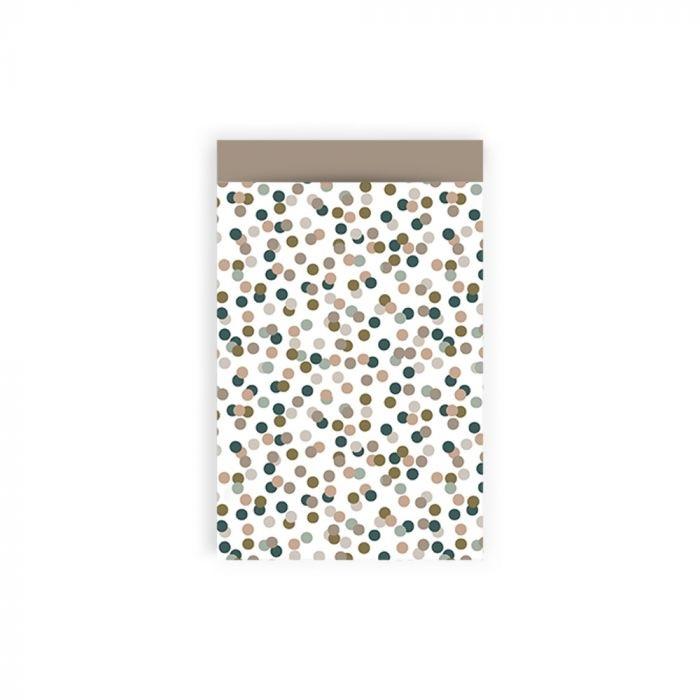 Cadeauzakje - Small Confetti - Taupe