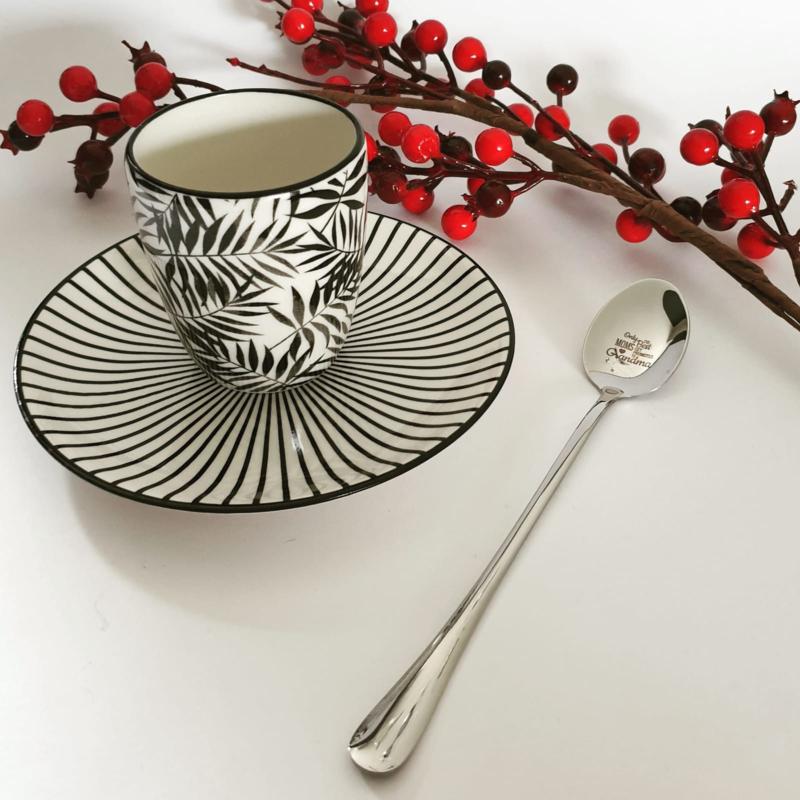 Koffie/dessert lepel - mom