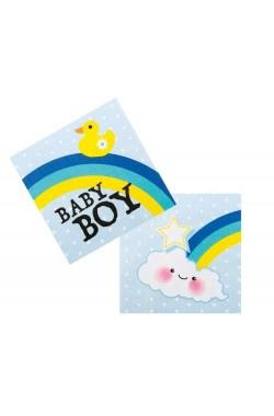 Servetten baby boy