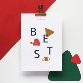 POSTCARD - YOU ARE THE BEST