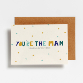 POSTCARD - YOU'RE THE MAN