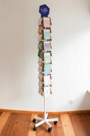 Vloer kaartenmolen - 34 vakken