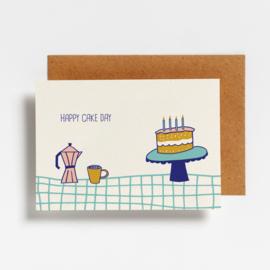 POSTCARD - HAPPY CAKE DAY
