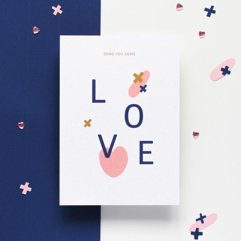 POSTCARD - SEND YOU SOME LOVE