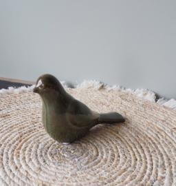 Sculptuur vogel 'Merel'