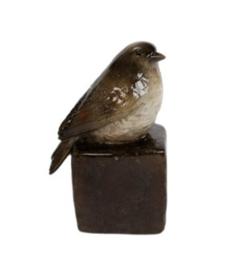 Sculptuur vogel.