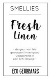 Ecogeurkaars - Fresh Linen