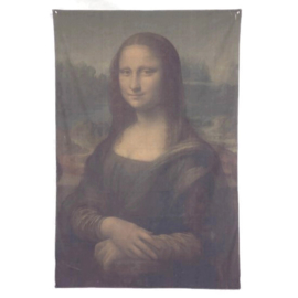 Mona lisa, wanddoek.