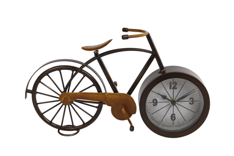 Tafelklok 'fiets'