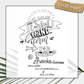 2-delige Cursus Handletteren