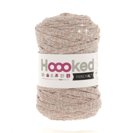 Hoooked Ribbon XL Cotton Yarn 120M Lurex Golden Dust Knitting Crochet