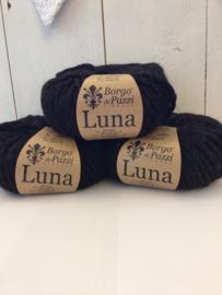 Luna kleur 33 zwart/antraciet