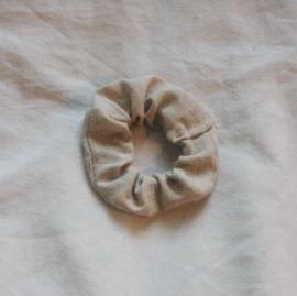 scrunchie tan (cotton)