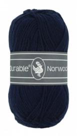 Norwool  210 marineblauw