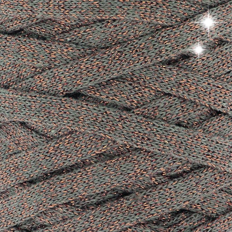 Ribbon XL Lurex Copper Wood