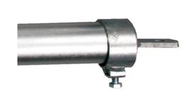 Klemring d=70 mm voor draagbuis met stelschroeven