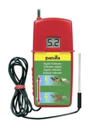 Digitale Voltmeter met aardpen en afrasteringscontact