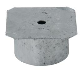 Afdekkap voor inbouwhuls 102 mm