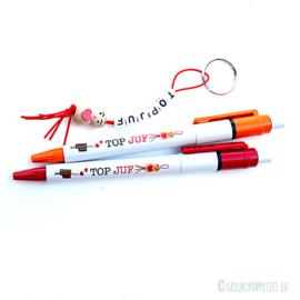 TOPJUF gelukspoppetjes pen per 10 stuks
