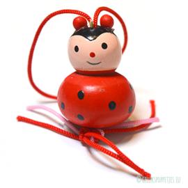 Large woorden lucky ladybug