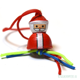 Santa Clause lucky doll