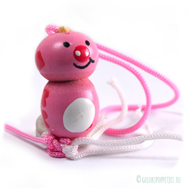 Lucky pink pig