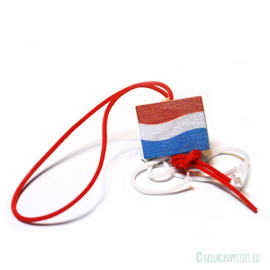 Dutch flag as a lucky doll