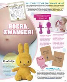 Baby geluk in tijdschrift de Party