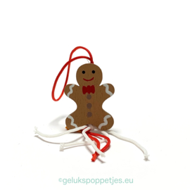 Gingerbread gelukspoppetjes per 50 stuks