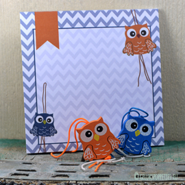 Lucky doll owl notepads