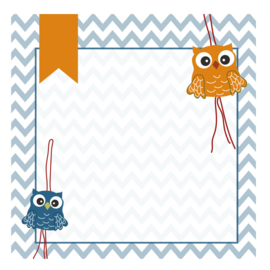 Lucky doll owl notepads