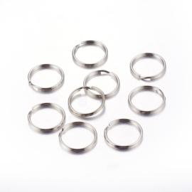 Sleutelhanger ringen per 25 stuks
