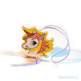 Unicorn gelukspoppetjes pen per 10 stuks