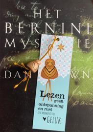 Geluksboekenlegger boeddha per 25 stuks