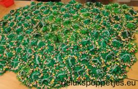 Gelukspoppetjes met kleur touwtjes naar keuze