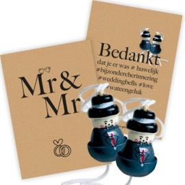 Trouwen vol geluk Basic Mr & Mr 25 sets