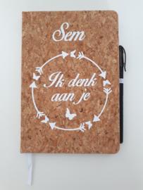 Notitieboek kurk
