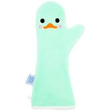 Baby Shower Glove mintgroene Little Swan