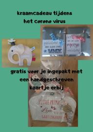 Kraamcadeau tijdens het corona virus