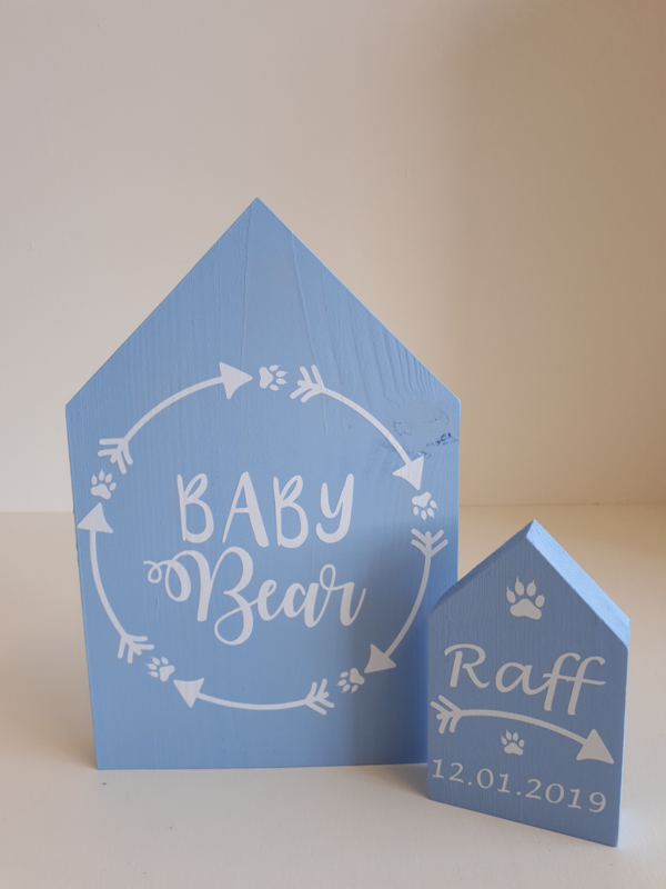 Set huisjes baby bear