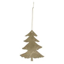 Hangers Boom naturel L in hout (set v.4)