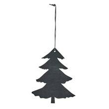 Hangers Boom zwart L in hout (set v.4)