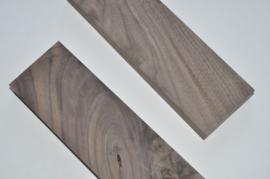 OPTIE - Set houten sierkanten voor buizenversterker