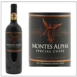 Montes Alpha Black Special Cuvée Cabernet Sauvignon