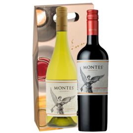 Montes Chardonnay/Cabernet Sauvignon giftpack