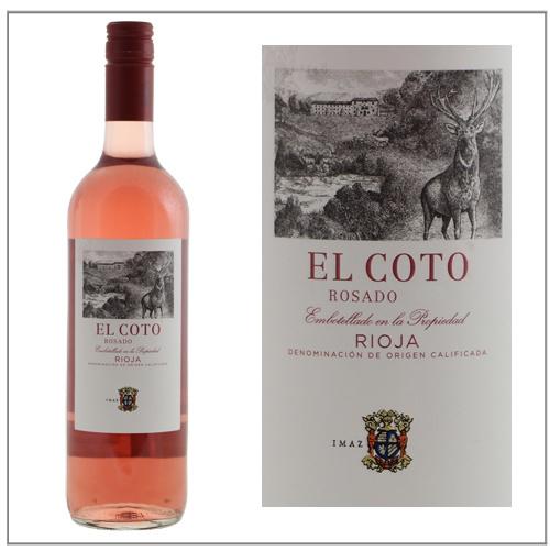 El Coto de Rioja rosado